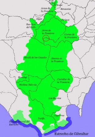 Localización de la finca El Marrufo.