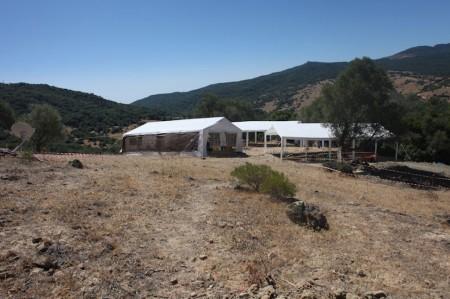Campo de trabajo de las fosas comunes del Marrufo. Foto: Adrià Riudavets Ramos.
