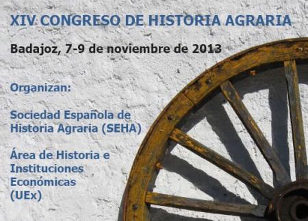 Cartel del Congreso de Historia Agraria.