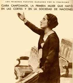 Clara Campoamor (Nuevo Mundo, 18/9/1931).