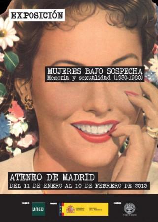 Cartel de la exposición en el Ateneo de Madrid.