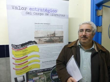 El historiador José Manuel Algarbani.