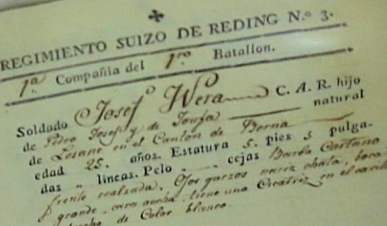 Fragmento de uno de los documentos recuperados.