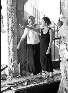 Jelena Milincic y Anissa Naouai (Foto: RT).