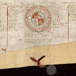 Pergamino del Archivo de la Chancillería de Valladolid.