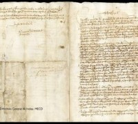 Carta de Juan Sebastián Elcano, 1522.