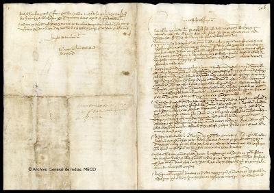 Cata de Juan Sebastián Elcano, 1522.