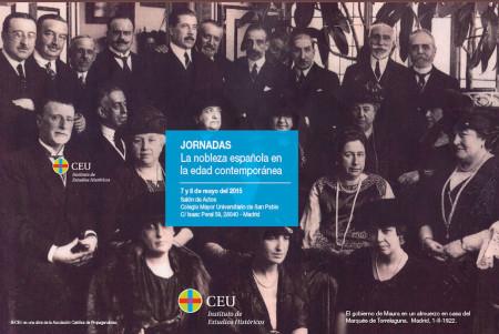 El gobierno de Maura en un almuerzo en casa del Marqués de Torrelaguna. Madrid, 1-II-1922.