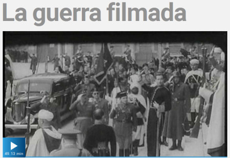 Portada de uno de los documentales del NO-DO.