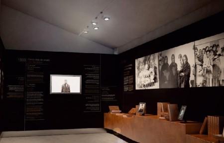 Sala del Espacio Conmemorativo Casas Viejas 1933.