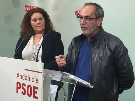 Carlos Perales y Araceli Maese.