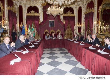 Reunión de la Fundación Casa Medina Sidonia.
