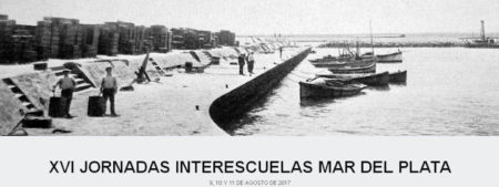 XVI Jornadas Interescuelas Mar del Plata.