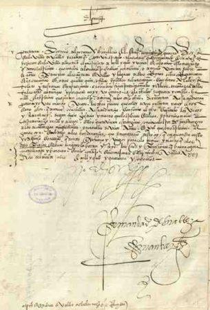 Documento de la colección de cédulas y pragmáticas.