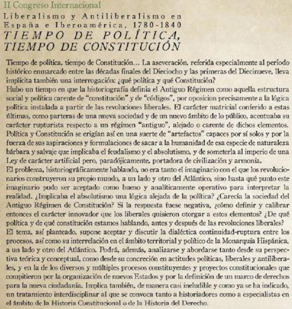 Texto del díptico.