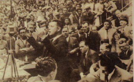 Vicente Ballester, dirigente de CNT, uno de los asesinados por los golpistas en Cádiz.