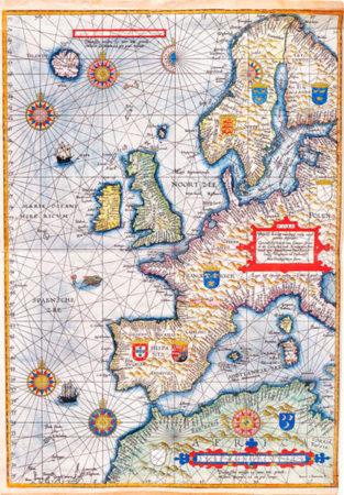 Waghenaer, L.J., Spiegel der Zeevaert. Amberes, 1591