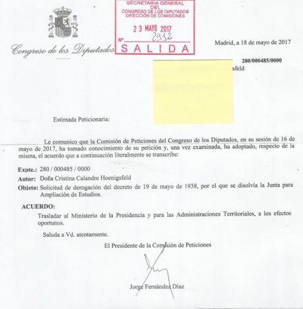 Otra respuesta de Fernández Díaz.
