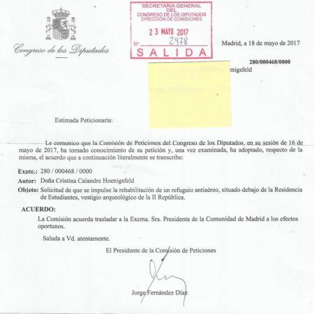 Respuesta de Fernández Díaz.