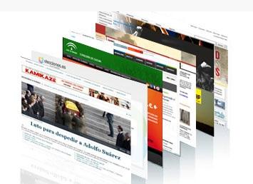 Colección de webs.