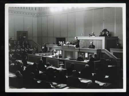 Discurso de Negrín en 1937.