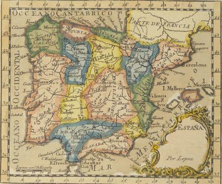 Mapa de Tómas López (BNE).