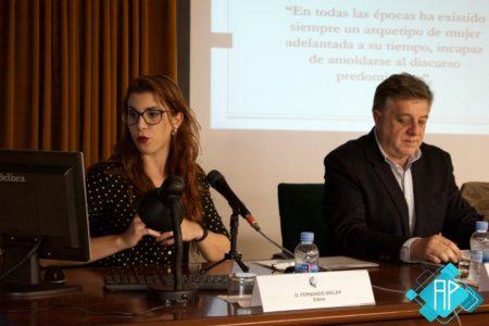 Lidia García Garrido, durante su intervención. Foto: Antonio Ramos Domínguez.
