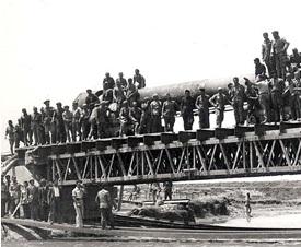 Una de las construcciones hechas por los prisioneros (Foto: http://www.casamemorialasauceda.es).