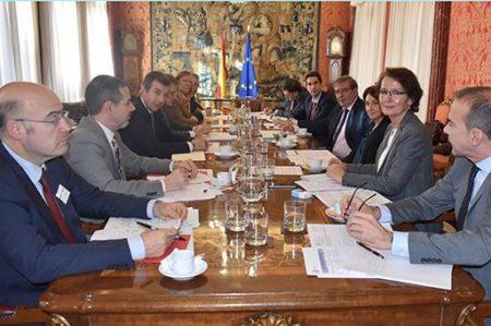 Reunión de la Comisión Interministerial del 27 de noviembre de 2018.