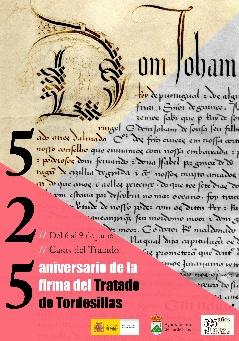 Cartel de la conmemoración.