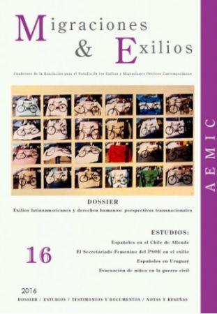 Portada de Migraciones & Exilios, nº 16
