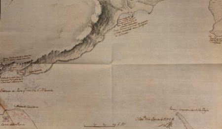 Mapa de la Bahía de La Habana (Archivo General de Indias).