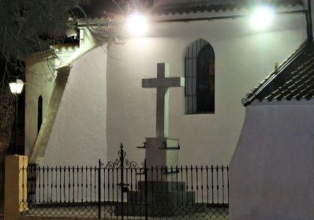 Una cruz de los caídos.