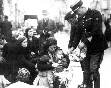 Refugiadas españolas en Francia (Biblioteca Virtual Miguel de Cervantes).
