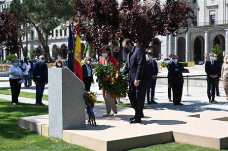 Homenaje institucional en Madrid.